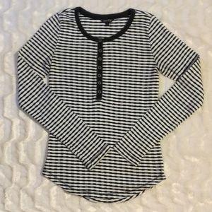 Lucky brand stripped long sleeve shirt
